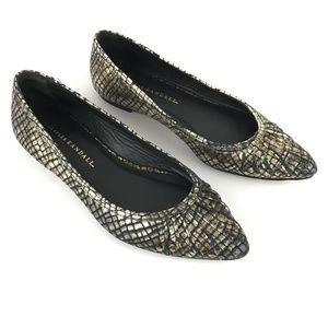 Loeffler Randall Metallic Winifred Flat Shoes